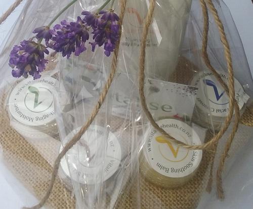 Christmas Gift Pack with samples of Vitalise Skin Care range