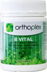 B Vital Orthoplex Vitamin and mineral powder